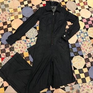 7 For All Mankind Denim Jumpsuit Size XS